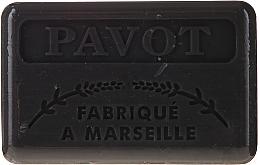 """Profumi e cosmetici Sapone di Marsiglia """"Papavero"""" - Foufour Savonnette Marseillaise Pavot"""