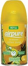 """Profumi e cosmetici Deodorante per ambienti """"Energia degli agrumi"""" - Airpure Air-O-Matic Refill Citrus Zing"""