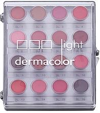 Profumi e cosmetici Palette rossetti, 16 colori - Kryolan Dermacolor Light Lipstick Palette