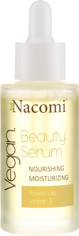 Siero viso idratante - Nacomi Beauty Serum Nourishing & Moisturizing Serum