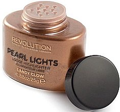 Profumi e cosmetici Highlighter per viso in polvere - Makeup Revolution Pearl Lights Loose Highlighter