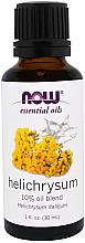 Profumi e cosmetici Olio essenziale di elicriso - Now Foods Essential Oils Helichrysum Oil Blend