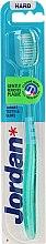 Profumi e cosmetici Spazzolino da denti, rigido, Target, verde - Jordan Target Teeth & Gums Hard