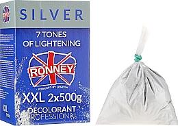 """Profumi e cosmetici Polvere schiarente capelli """"7 toni"""" - Ronney Dust Free Bleaching Powder Classic"""