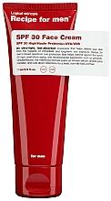 Profumi e cosmetici Crema solare viso idratante - Recipe For Men Facial Moisturizer SPF 30