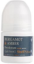 Profumi e cosmetici Bath House Bergamot & Amber - Deodorante stick