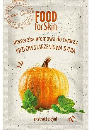 Maschera per il viso - Marion Food for Skin Cream Mask Anti-age Pumpkin