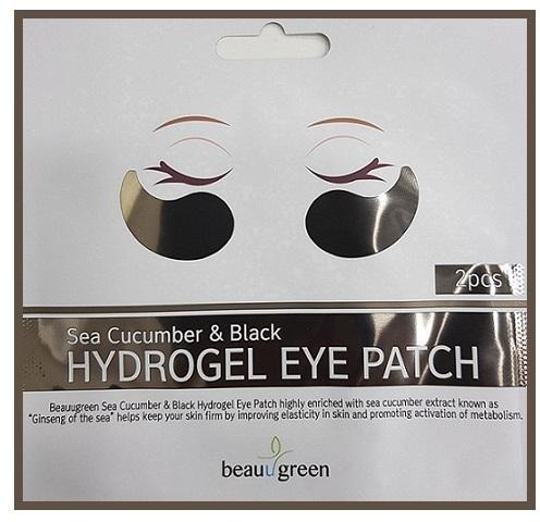 Cerotti idrogel per gli occhi - BeauuGreen Sea Cucumber Black