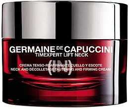 Profumi e cosmetici Crema per collo e decolleté con effetto lifting - Germaine de Capuccini TimExpert Lift (In)
