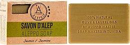 """Profumi e cosmetici Sapone di Aleppo """"Jasmine"""" - Alepeo Aleppo Soap Jasmine 8%"""