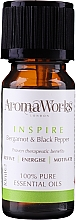 Profumi e cosmetici Miscela di oli essenziali - AromaWorks Inspire Essential Oil