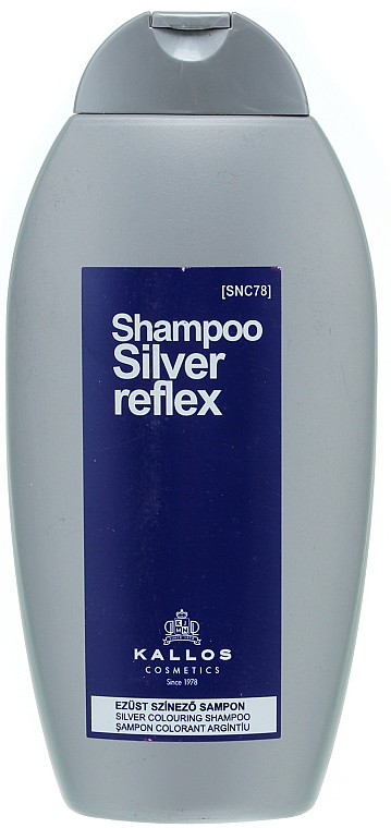 Shampoo colorazione argento - Kallos Cosmetics Silver Reflex Shampoo