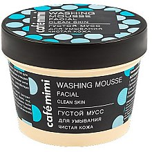 "Profumi e cosmetici Mousse detergente ""Pelle pulita"" - Cafe Mimi Washing Mousse Facial Clean Skin"