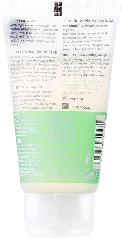Shampoo per capelli grassi - Tolpa Dermo Hair Deep Cleansing Shampoo — foto N4