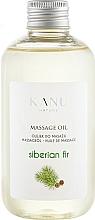 "Profumi e cosmetici Olio da massaggio ""Abete siberiano"" - Kanu Nature Siberian Fir Massage Oil"