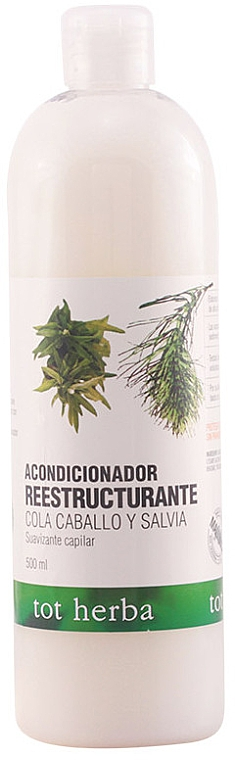 "Balsamo per capelli ""Equiseto e salvia"" - Tot Herba Horse Tail & Salvia Hair Conditioner"