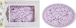 """Profumi e cosmetici Sapone naturale """"Glicine"""" - Saponificio Artigianale Fiorentino Botticelli Wisteria Soap"""