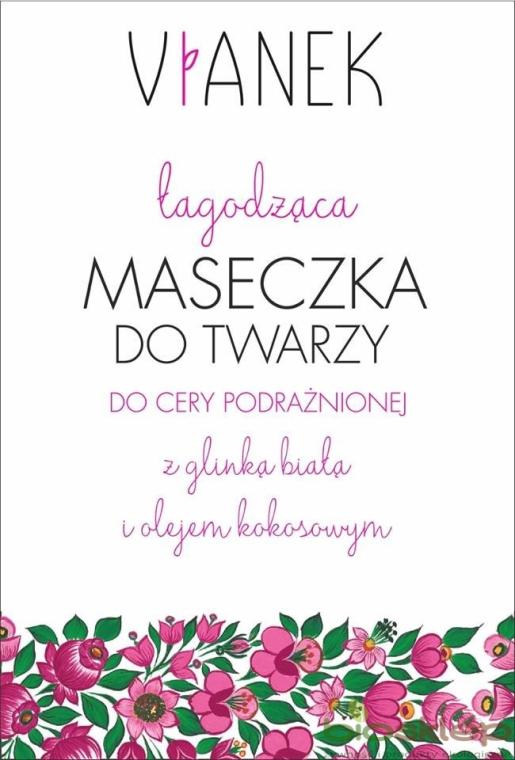 Maschera viso lenitiva - Vianek
