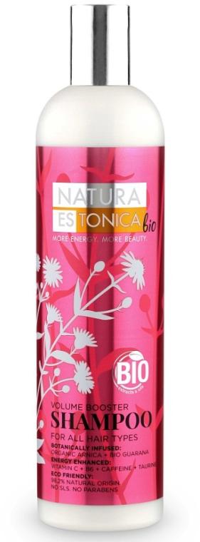"""Shampoo per tutti i tipi di capelli """"Volume booster"""" - Natura Estonica Volume Booster Shampoo"""