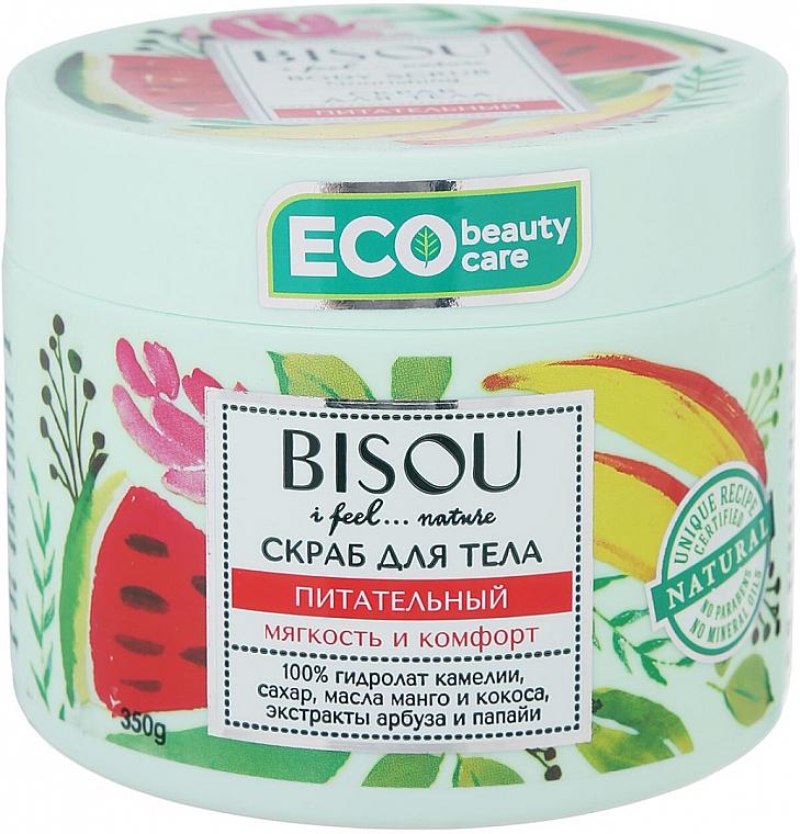 """Scrub corpo """"Nutriente"""" con estratto di anguria ed estratto di mango - Bisou I feel... Nature Nourishing Body Scrub"""