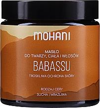 """Profumi e cosmetici Burro viso e corpo """"Babassu"""" - Mohani Babassu Rich Batter"""