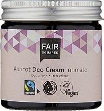 Profumi e cosmetici Deocrema intima - Fair Squared Apricot Deo Cream Intimate