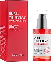 Profumi e cosmetici Siero riparatore con bava di lumaca nera - Some By Mi Snail Truecica Miracle Repair Serum