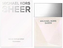 Profumi e cosmetici Michael Kors Sheer 2017 - Eau de Parfum