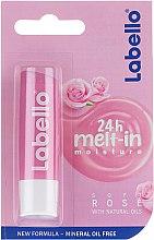 """Profumi e cosmetici Balsamo labbra """"Gentle Rose"""" - Labello Lip Care Soft Rose Lip Balm"""