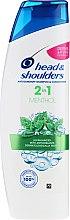 "Profumi e cosmetici Shampoo 2in1 anti-forfora ""Mentolo"" - Head & Shoulders 2in1 Menthol"