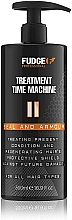 Profumi e cosmetici Balsamo per capelli - Fudge Treatment Time Machine Seal And Armour