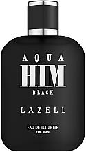 Profumi e cosmetici Lazell Aqua Him Black - Eau de toilette
