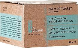 Profumi e cosmetici Crema viso idratante - Be Organic Moisturising Face Cream
