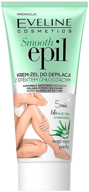Gel crema depilatoria effetto rinfrescante - Eveline Cosmetics Smooth Epil