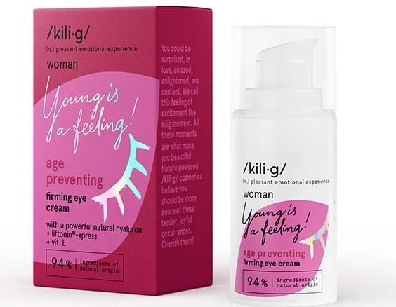 Crema contorno occhi rassodante - Kili·g Woman Age Preventing Eye Cream