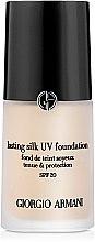 Profumi e cosmetici Fondotinta crema - Giorgio Armani Lasting Silk UV Foundation SPF20