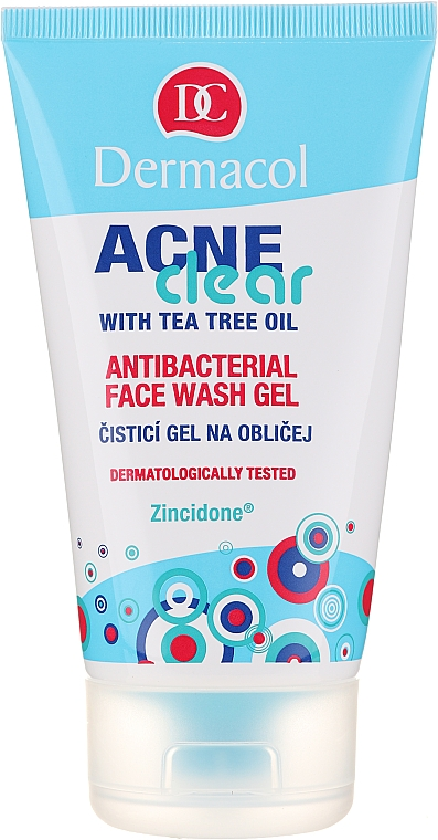 Gel detergente antibatterico - Dermacol Acne Clear Antibacterial Face Wash Gel