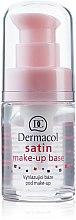 Profumi e cosmetici Base trucco con effetto opacizzante levigante - Dermacol Satin Base Make-Up