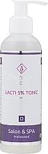 Profumi e cosmetici Acido lattico tonico - Charmine Rose Lacti 5% Tonic