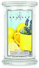 Profumi e cosmetici Candela profumata in vetro - Kringle Candle Lemon Lavender