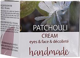 """Profumi e cosmetici Crema viso e decollete """"Patchouli"""" - Hristina Cosmetics Handmade Patchouli Eyes & Face & Decollete Cream"""