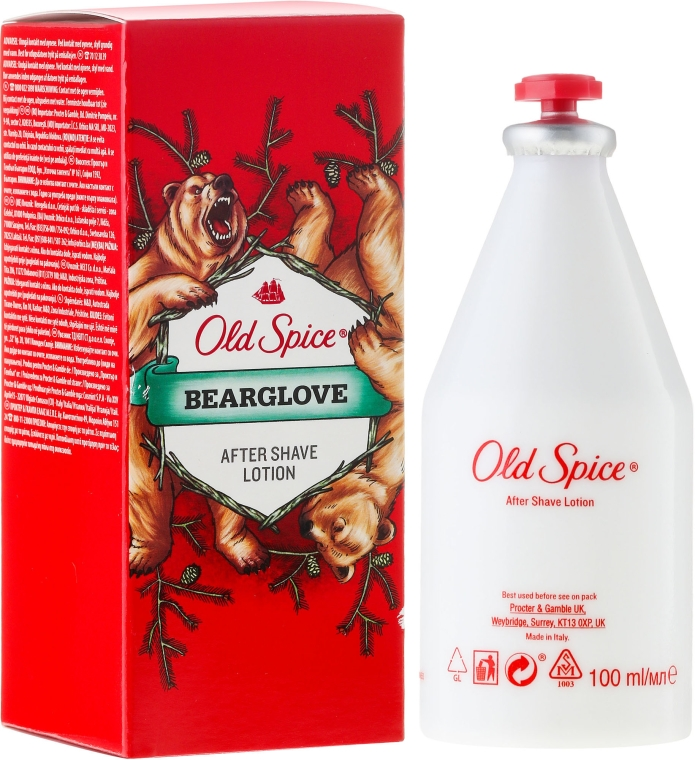 Lozione dopobarba - Old Spice Bearglove After Shave Lotion