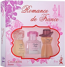 Profumi e cosmetici Charrier Parfums Romance De France - Set (edp/11.5ml+edp/10.1ml+edp/12ml)