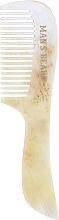 Profumi e cosmetici Pettine per baffi e barba, bianco-beige - Man's Beard Moustache And Beard Comb