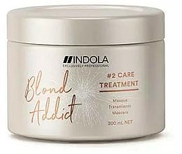 Profumi e cosmetici Maschera capelli - Indola Blond Addict Treatment
