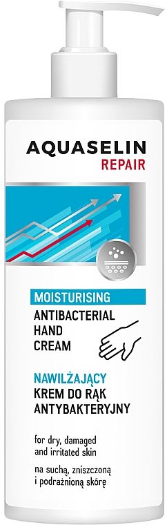 Crema antibatterica per mani - AA Aquaselin Repair Hand Cream