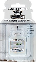Profumi e cosmetici Profumo per auto - Yankee Candle Car Jar Ultimate Fluffy Towels