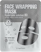Profumi e cosmetici Maschera a doppio strato all'acido ialuronico - Berrisom Face Wrapping Mask Hyaluronic Solution