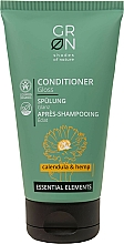 Profumi e cosmetici Balsamo capelli con effetto gloss - GRN Calendula & Hemp Conditioner
