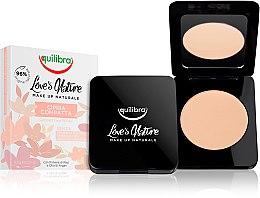 Profumi e cosmetici Cipria compatta - Equilibra Love's Nature Compact Face Powder